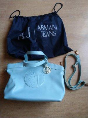 Armani Handbag azure-steel blue