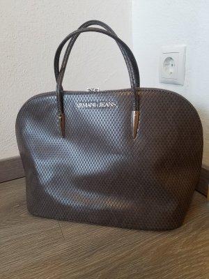 Armani Jeans Carry Bag grey brown-beige