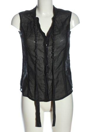 Armani Jeans Camicia blusa nero stile casual