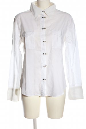 Armani Jeans Hemdblouse wit casual uitstraling