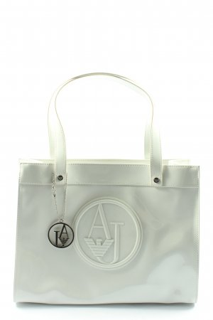 Armani Jeans Carry Bag white business style