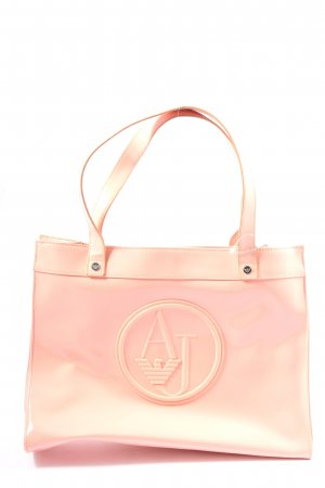 Armani Jeans Carry Bag nude casual look