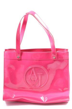 Armani Jeans Draagtas roze prints met een thema casual uitstraling