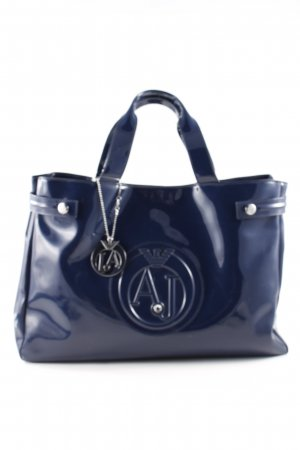 Armani Jeans Carry Bag blue casual look