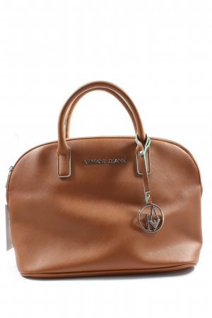 Armani Jeans Carry Bag brown business style