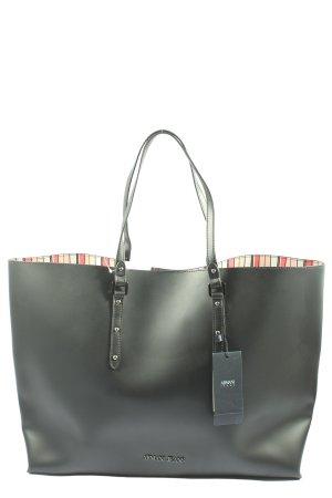 Armani Jeans Carry Bag khaki themed print casual look