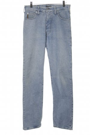Armani Jeans Hoge taille jeans blauw casual uitstraling