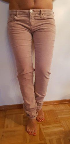 Armani Jeans pantalón de cintura baja violeta Licra
