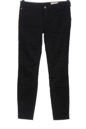 Armani Jeans Pantalone a vita bassa nero stile casual