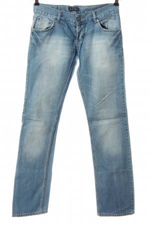 Armani Jeans Low Rise jeans blauw casual uitstraling