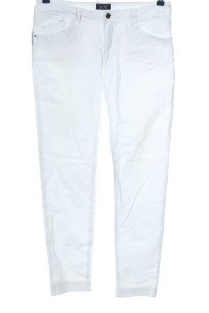 Armani Jeans Hüftjeans weiß Casual-Look