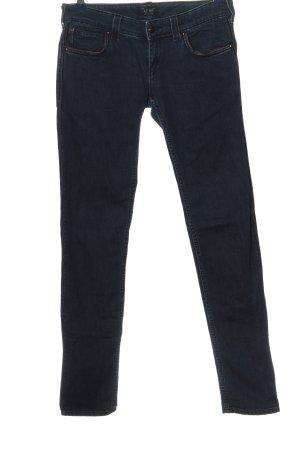 Armani Jeans Hüftjeans blau Casual-Look