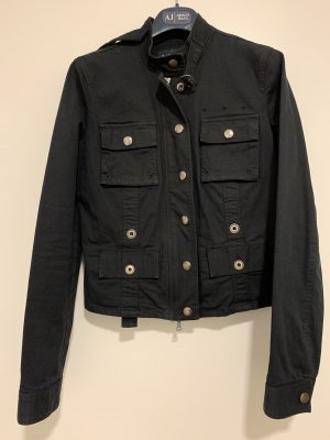 Armani Jeans Short Jacket black