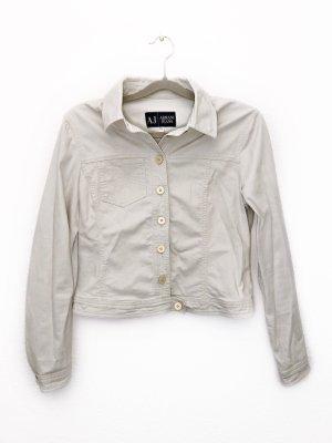 Armani Jeans Jacke leichte Sommerjacke Blazer beige Größe 40 Neu 290€