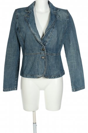 Armani Jeans Jeansblazer blau Casual-Look