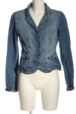 Armani Jeans Spijkerjack blauw casual uitstraling