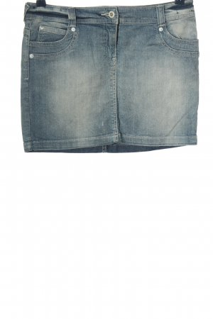 Armani Jeans Jeansrock blau Casual-Look