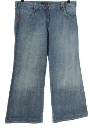 Armani Jeans Jeans a zampa d'elefante blu stile casual