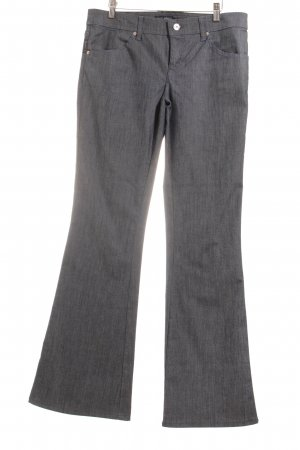 Armani Jeans Jeansschlaghose graublau meliert