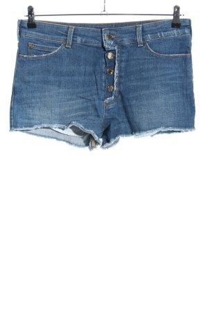 Armani Jeans Pantaloncino di jeans blu stile casual