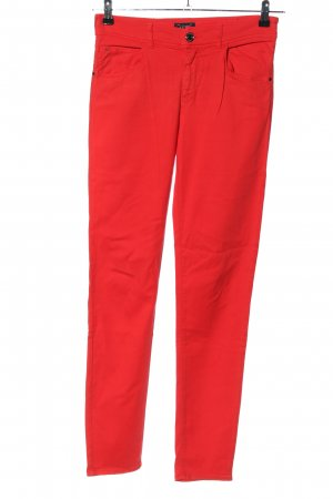 Armani Jeans Jegging rood casual uitstraling