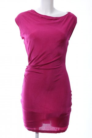 Armani Jeans Jersey Dress pink casual look