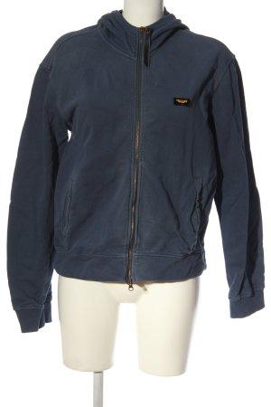 Armani Jeans Kapuzensweatshirt blau Casual-Look