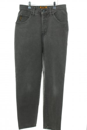 Armani Jeans Carrot Jeans light grey casual look
