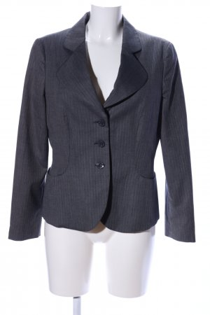 Armani Jeans Blazer court gris clair imprimé allover style d'affaires