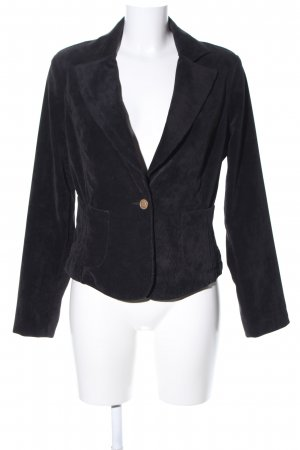 Armani Jeans Short Blazer black business style