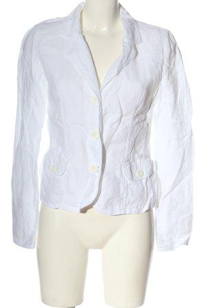 Armani Jeans Blazer court blanc style décontracté