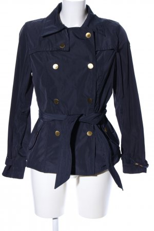 Armani Jeans Kurzjacke blau Casual-Look
