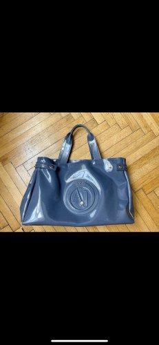 Armani Jeans Shopper gris ardoise