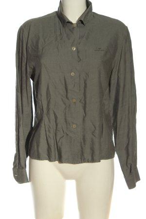 Armani Jeans Langarmhemd khaki Casual-Look