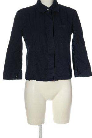 Armani Jeans Langarmhemd blau Casual-Look