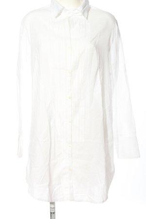 Armani Jeans Chemise à manches longues blanc style d'affaires