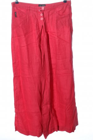 Armani Jeans Leinenhose pink Casual-Look