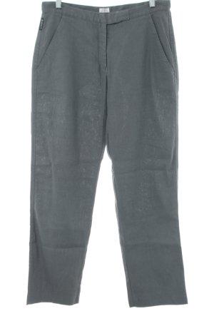 Armani Jeans Leinenhose hellgrau Business-Look
