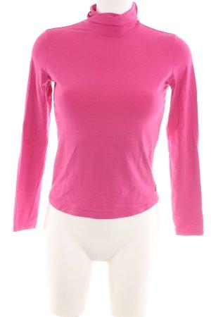 Armani Jeans Longsleeve pink Business-Look