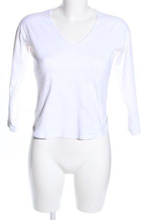 Armani Jeans Longsleeve white casual look