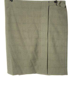 Armani Jeans Mini-jupe gris clair motif à carreaux style décontracté