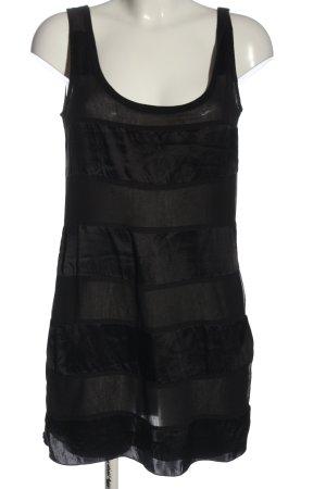 Armani Jeans Robe courte noir style décontracté