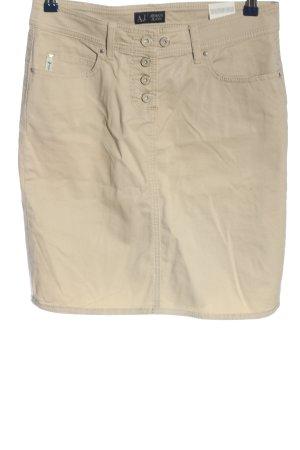 Armani Jeans Minirock creme Casual-Look