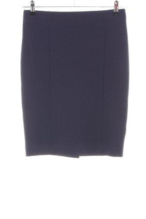 Armani Jeans Minirock blau Business-Look