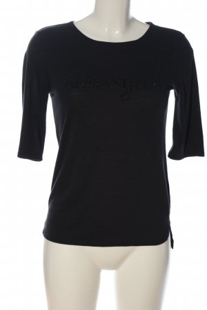 Armani Jeans Muscle Shirt black casual look