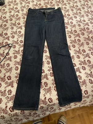 Armani Baggy jeans donkerblauw