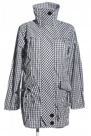 Armani Jeans Heavy Raincoat check pattern casual look