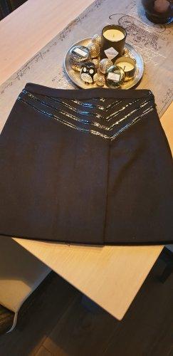 Armani Jeans Jupe en laine noir laine