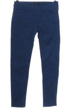 Armani Jeans Pantalon cigarette bleu style décontracté