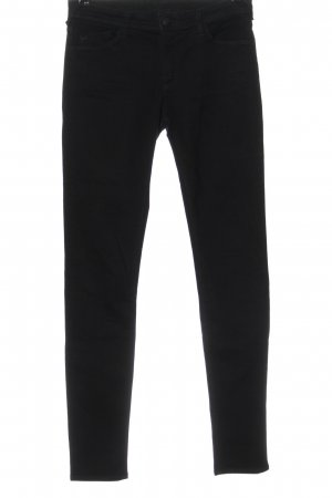 Armani Jeans Jeans cigarette noir style décontracté